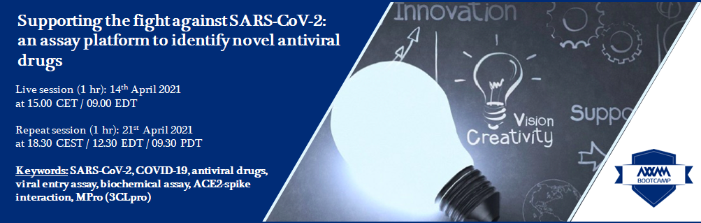 Webinar: supporting the fight against SARS-CoV-2